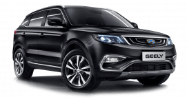 geely x7 cotiza pandero